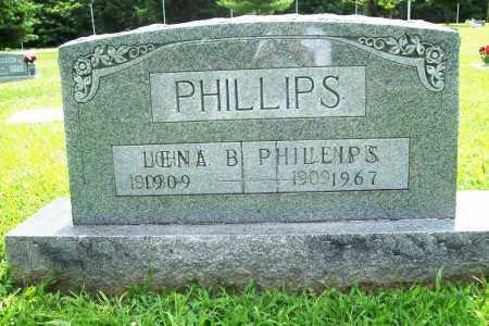 PHILLIPS, LENA B. - Benton County, Arkansas   LENA B. PHILLIPS - Arkansas Gravestone Photos