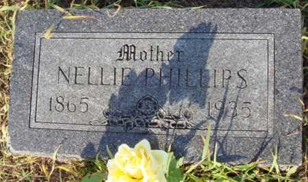 PHILLIPS, NELLIE - Benton County, Arkansas | NELLIE PHILLIPS - Arkansas Gravestone Photos