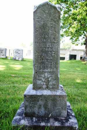 PHILLIPS, SAMUEL - Benton County, Arkansas | SAMUEL PHILLIPS - Arkansas Gravestone Photos