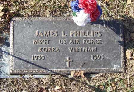 PHILLIPS (VETERAN 2 WARS), JAMES L - Benton County, Arkansas | JAMES L PHILLIPS (VETERAN 2 WARS) - Arkansas Gravestone Photos