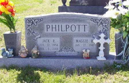 PHILPOTT, JACK R. - Benton County, Arkansas   JACK R. PHILPOTT - Arkansas Gravestone Photos