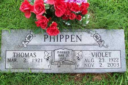 PHIPPEN, VIOLET - Benton County, Arkansas   VIOLET PHIPPEN - Arkansas Gravestone Photos