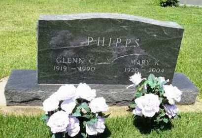 PHIPPS, GLENN C. - Benton County, Arkansas | GLENN C. PHIPPS - Arkansas Gravestone Photos