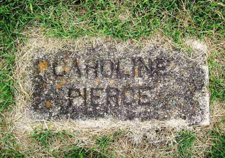 PIERCE, CAROLINE - Benton County, Arkansas | CAROLINE PIERCE - Arkansas Gravestone Photos