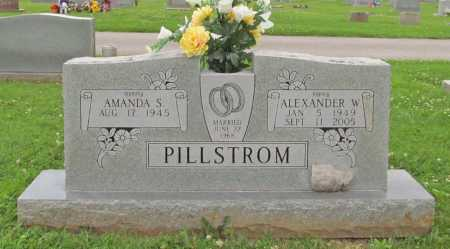 PILLSTROM, ALEXANDER W. - Benton County, Arkansas   ALEXANDER W. PILLSTROM - Arkansas Gravestone Photos