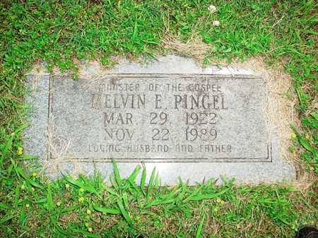PINGEL, MELVIN E. - Benton County, Arkansas | MELVIN E. PINGEL - Arkansas Gravestone Photos