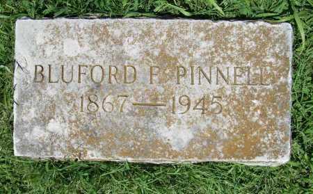 PINNELL, BLUFORD F. - Benton County, Arkansas   BLUFORD F. PINNELL - Arkansas Gravestone Photos