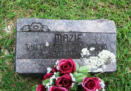 PITTILLO, MAZIE - Benton County, Arkansas | MAZIE PITTILLO - Arkansas Gravestone Photos