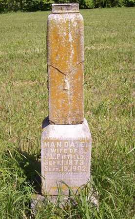 PITTILLO, MANDA E - Benton County, Arkansas   MANDA E PITTILLO - Arkansas Gravestone Photos