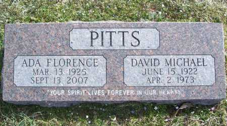 PITTS, ADA FLORENCE - Benton County, Arkansas | ADA FLORENCE PITTS - Arkansas Gravestone Photos