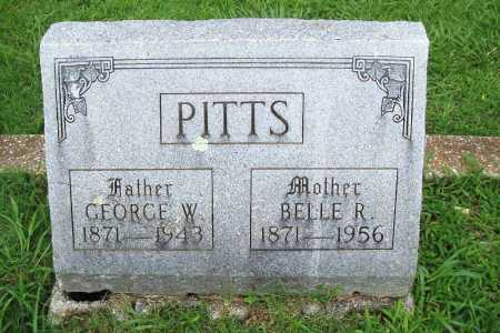 PITTS, BELLE R. - Benton County, Arkansas | BELLE R. PITTS - Arkansas Gravestone Photos