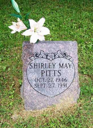 PITTS, SHIRLEY MAY - Benton County, Arkansas | SHIRLEY MAY PITTS - Arkansas Gravestone Photos