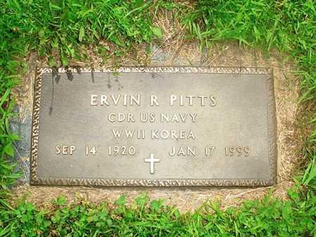 PITTS (VETERAN 2 WARS), ERVIN R. - Benton County, Arkansas | ERVIN R. PITTS (VETERAN 2 WARS) - Arkansas Gravestone Photos