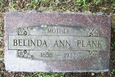 PLANK, BELINDA ANN - Benton County, Arkansas   BELINDA ANN PLANK - Arkansas Gravestone Photos