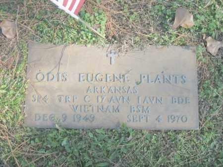 PLANTS (VETERAN VIET), ODIS EUGENE - Benton County, Arkansas   ODIS EUGENE PLANTS (VETERAN VIET) - Arkansas Gravestone Photos