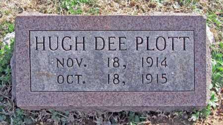 PLOTT, HUGH DEE - Benton County, Arkansas | HUGH DEE PLOTT - Arkansas Gravestone Photos
