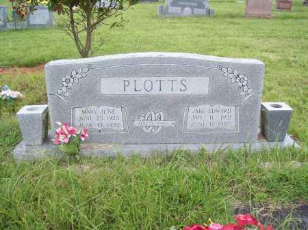 PLOTTS, JAKE EDWARD - Benton County, Arkansas   JAKE EDWARD PLOTTS - Arkansas Gravestone Photos