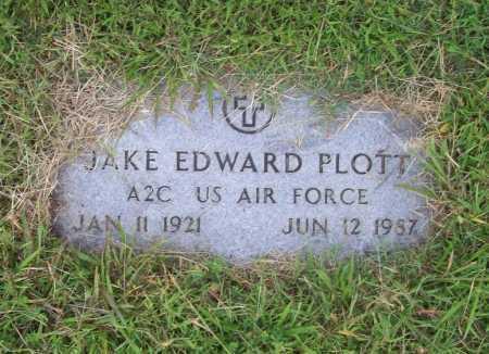 PLOTTS (VETERAN), JAKE EDWARD - Benton County, Arkansas | JAKE EDWARD PLOTTS (VETERAN) - Arkansas Gravestone Photos