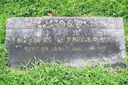 POINDEXTER, CHARLES N. - Benton County, Arkansas | CHARLES N. POINDEXTER - Arkansas Gravestone Photos