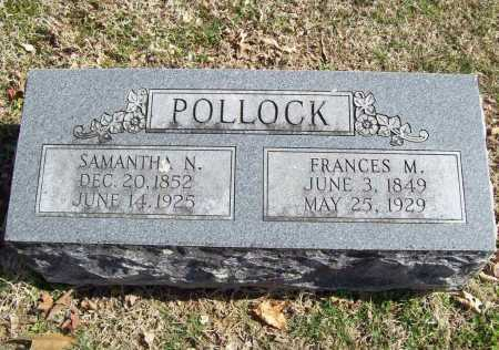 POLLOCK, NANCY SAMANTHA - Benton County, Arkansas | NANCY SAMANTHA POLLOCK - Arkansas Gravestone Photos