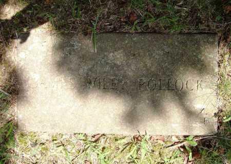 POLLOCK, JAMES WILEY - Benton County, Arkansas | JAMES WILEY POLLOCK - Arkansas Gravestone Photos