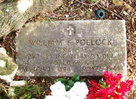 POLLOCK (VETERAN WWI), WILLIAM F. - Benton County, Arkansas   WILLIAM F. POLLOCK (VETERAN WWI) - Arkansas Gravestone Photos