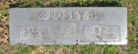 "POSEY, B P ""UNCLE PINK"" - Benton County, Arkansas 