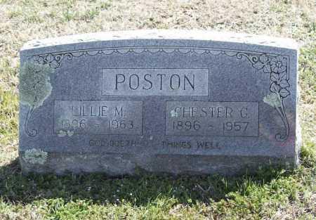 POSTON, CHESTER G. - Benton County, Arkansas | CHESTER G. POSTON - Arkansas Gravestone Photos