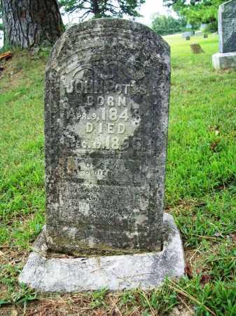 POTTS (VETERAN), JOHN - Benton County, Arkansas   JOHN POTTS (VETERAN) - Arkansas Gravestone Photos