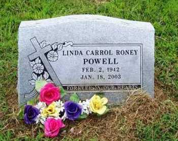 RONEY POWELL, LINDA CARROL - Benton County, Arkansas | LINDA CARROL RONEY POWELL - Arkansas Gravestone Photos