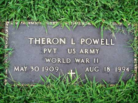 POWELL (VETERAN WWII), THERON L. - Benton County, Arkansas | THERON L. POWELL (VETERAN WWII) - Arkansas Gravestone Photos