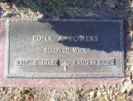 POWERS, EDNA ANN - Benton County, Arkansas   EDNA ANN POWERS - Arkansas Gravestone Photos