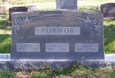 POYNER, JOHN - Benton County, Arkansas | JOHN POYNER - Arkansas Gravestone Photos