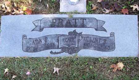 PRATT, CLINT R. - Benton County, Arkansas | CLINT R. PRATT - Arkansas Gravestone Photos