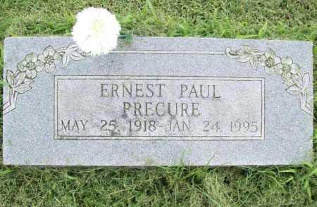 PRECURE, ERNEST PAUL - Benton County, Arkansas | ERNEST PAUL PRECURE - Arkansas Gravestone Photos
