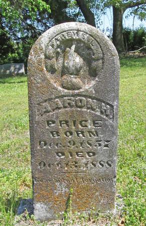 PRICE, AARON H - Benton County, Arkansas   AARON H PRICE - Arkansas Gravestone Photos