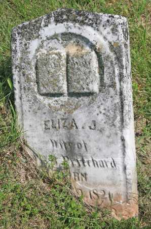 PRITCHARD, ELIZA J. - Benton County, Arkansas | ELIZA J. PRITCHARD - Arkansas Gravestone Photos