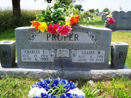 PROPER, LILLIAN M. - Benton County, Arkansas | LILLIAN M. PROPER - Arkansas Gravestone Photos