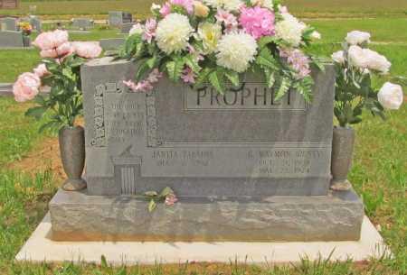 "PROPHET, GEORGE  WAYMON ""RUSTY"" - Benton County, Arkansas | GEORGE  WAYMON ""RUSTY"" PROPHET - Arkansas Gravestone Photos"