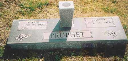 PROPHET, MARIE - Benton County, Arkansas   MARIE PROPHET - Arkansas Gravestone Photos