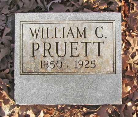 PRUETT, WILLIAM CAMPBELL - Benton County, Arkansas | WILLIAM CAMPBELL PRUETT - Arkansas Gravestone Photos