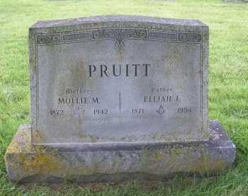 PRUITT, MOLLIE M. - Benton County, Arkansas | MOLLIE M. PRUITT - Arkansas Gravestone Photos