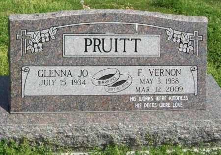 PRUITT, FLOYD VERNON - Benton County, Arkansas | FLOYD VERNON PRUITT - Arkansas Gravestone Photos