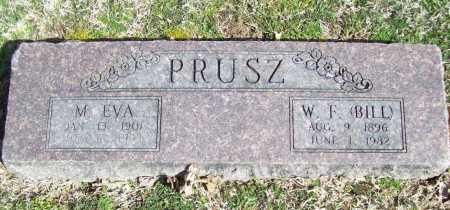 PRUSZ, WILLIAM F. (BILL) - Benton County, Arkansas | WILLIAM F. (BILL) PRUSZ - Arkansas Gravestone Photos