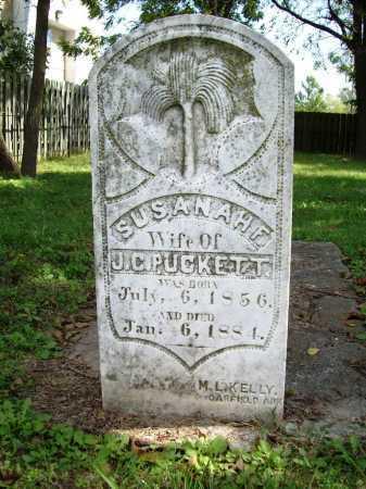 PUCKETT, SUSANAH F. - Benton County, Arkansas   SUSANAH F. PUCKETT - Arkansas Gravestone Photos