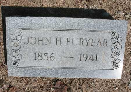 PURYEAR, JOHN H. - Benton County, Arkansas | JOHN H. PURYEAR - Arkansas Gravestone Photos