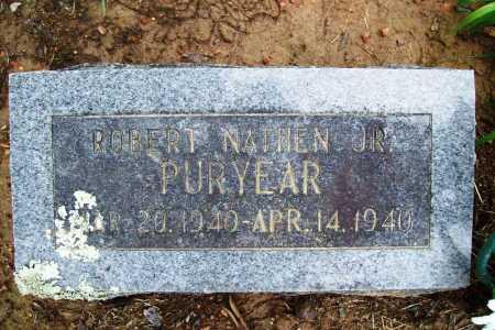 PURYEAR, ROBERT NATHEN JR. - Benton County, Arkansas | ROBERT NATHEN JR. PURYEAR - Arkansas Gravestone Photos