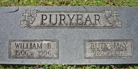 PURYEAR, RUTH MAY - Benton County, Arkansas | RUTH MAY PURYEAR - Arkansas Gravestone Photos