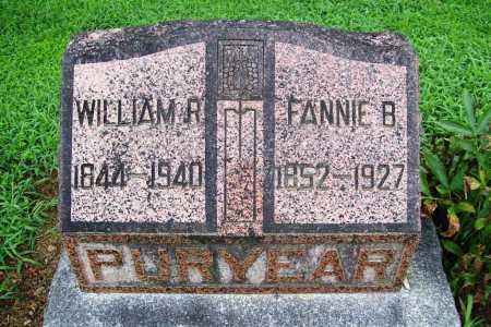 PURYEAR, FANNIE B. - Benton County, Arkansas | FANNIE B. PURYEAR - Arkansas Gravestone Photos