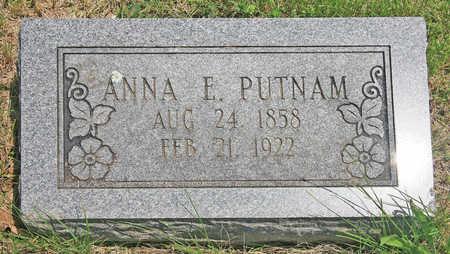 SETZER PUTNAM, ANNA E - Benton County, Arkansas | ANNA E SETZER PUTNAM - Arkansas Gravestone Photos